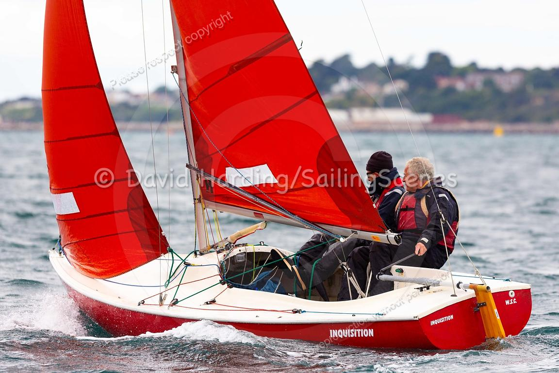 Inquisition, 608, Squib, Weymouth Regatta 2018, 20180908368.