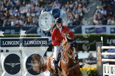 Lucy DAVIS ,(USA), BARRON during Longines Cup of the City of Barcelona competition at CSIO5* Barcelona at Real Club de Polo, ...