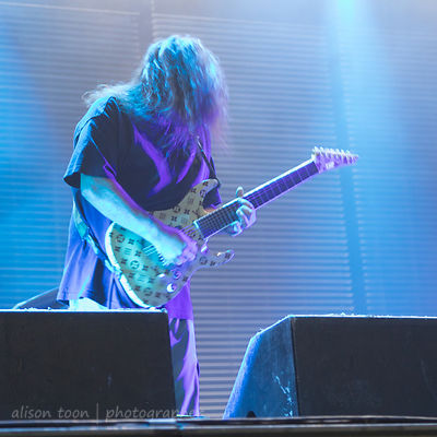 Stephen Carpenter, guitar, Deftones