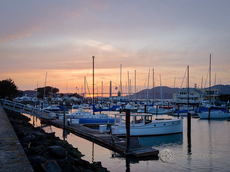 USA - California - San Francisco (Harbor Sunset)