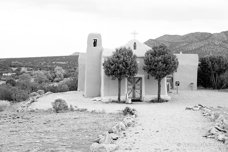 TURQUOISE TRAIL SAN FRANCISCO DE ASIS CHURCH GOLDEN NEW MEXICO
