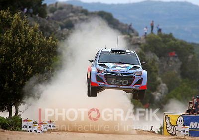 KEY WORDS: THIERRY NEUVILLE / HYUNDAI i20 / 2014 / RALLY / MOTORSPORT / ITALY