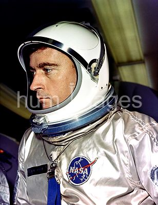 (23 March 1965) --- Astronaut John W. Young, pilot for the Gemini-Titan 3 mission, is in his space suit prior to Gemini-3 launch