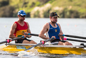 Taken during the World Masters Games - Rowing, Lake Karapiro, Cambridge, New Zealand; Tuesday April 25, 2017:   5745 -- 20170...