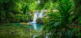 Cascades Waterfall, Efate