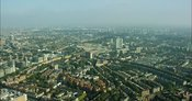 London Aerial Footage of Earls Court