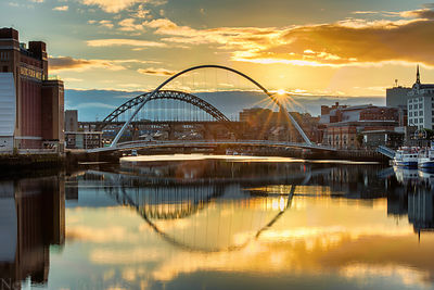River Tyne at Sunset