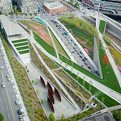 Seattle Art Museum's Olympic Sculpture Park, Downtown Waterfront, Seattle, WA