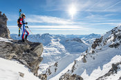 The view at the top with Laetitia Roux