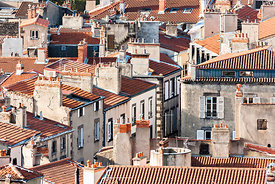 Clermont Ferrand roofs