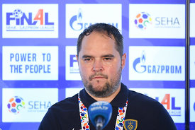 Branko Tamse during the Final Tournament - 3rd place match - Meshkov Brest vs Celje Pivovarna Lasko - Final Four - SEHA - Gaz...