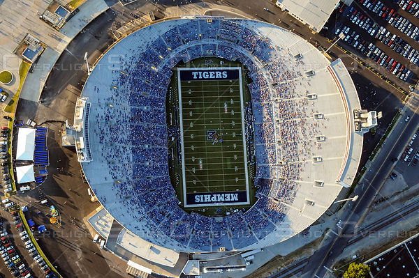 Liberty Bowl Football Stadium Memphis Tennessee