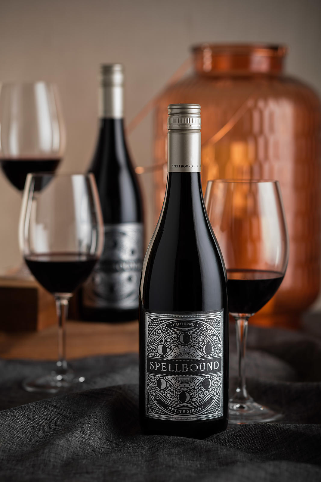 Commercial advertising and marketing photography for national brand Spellbound Wines by Jason Tinacci