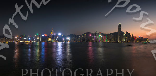 View_at_sunset_of_Hong_Kong_skyline_from_Tsim_Sha_Tsui_Waterfront
