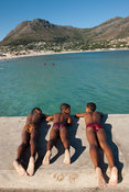 Children, Hout Bay, Cape Town, South Africa