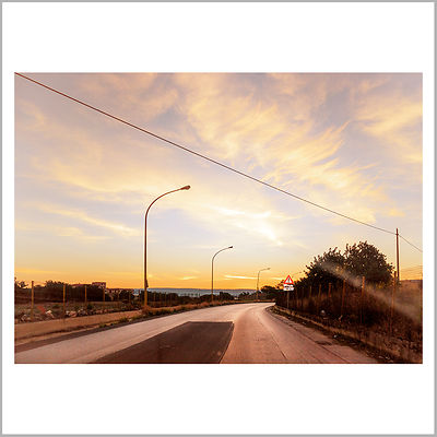 25th October 2015 - Sunrise On the Road - Vittoria, Sicily (Italy)