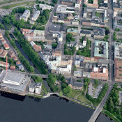City center, Karlstad