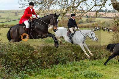The Cottesmore Hunt at Oak House 3/11