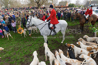 The Cottesmore Hunt Boxing Day meet, Cutts Close