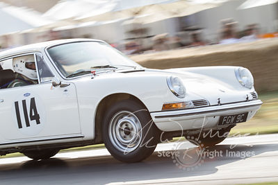 Porsche 911 (2.0-litre flat-6, 1967) - Celebrating 50 years of the Porsche 911 at Goodwood Festival of Speed 2013
