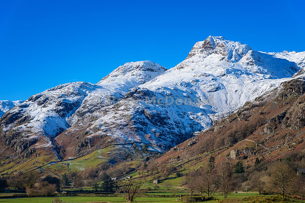 Wintry Langdales