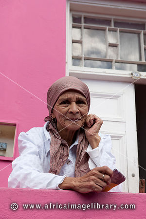 Cape Malay woman, Bo-Kaap, Cape Town, South Africa
