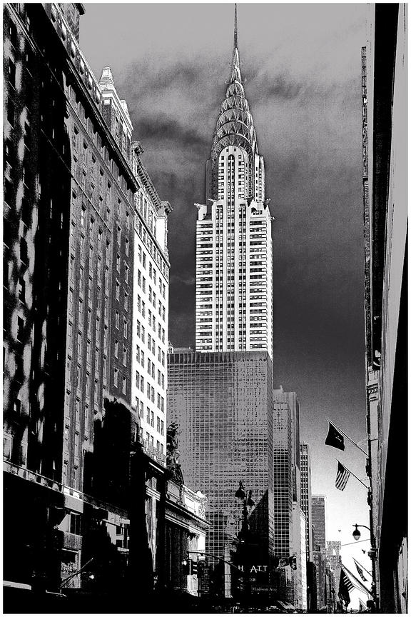 Chrysler building, New York 2010