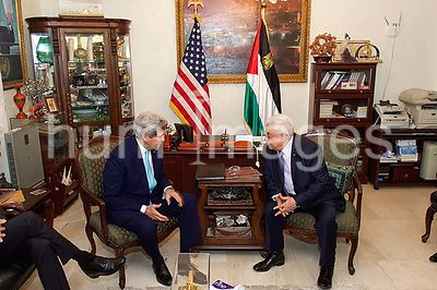 Secretary Kerry Meets With Palestinian Authority President Abbas in Jordan Amid Series of Conversations in Jordan