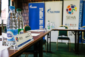Preparation during the Final Tournament - Final Four - SEHA - Gazprom league, SEHA assembly in Brest, Belarus, 07.04.2017, Ma...
