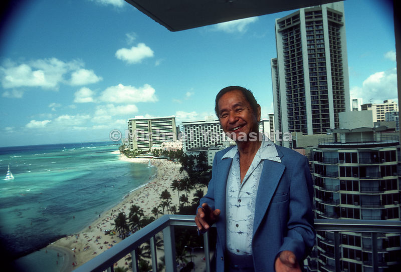 The son of immigrants who worked on sugar plantations, Honolulu hotel owner H.T. Hayashi has been honored as Hawaii's Busines...