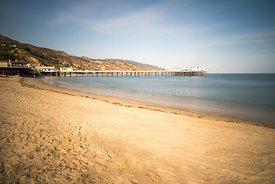 Malibu Pier at Surfrider Beach in Malibu California