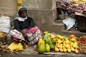 Fruit store, MacKinnon Market, Old Town, Mombasa, Kenya