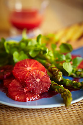 Blood Orange and Asparagus Salad