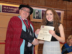 Presentation of excellence Scholarships at NUI Galway...Photograph by Aengus McMahon..... .. .....