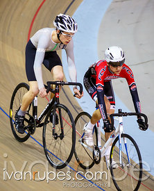 U17 Men Sprint 1/4 Final, Ontario Track Championships, Day 2, April 11, 2015