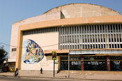 Mozambique, Beira, old, abandoned theatre.