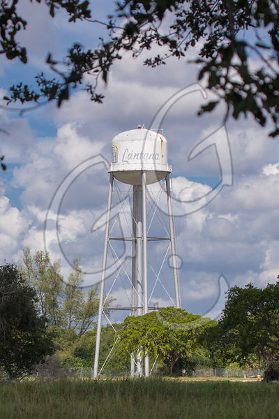 Lantana water tower