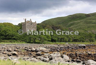 Castle Moy, Lochbuie, Isle of Mull, Argyll & Bute, Scotland