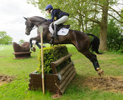 Elisabeth Halliday-Sharp and FERNHILL BY NIGHT - Rockingham Castle International Horse Trials 2016