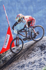 LEIGH DONOVAN KAPRUN, AUSTRIA. TISSOT MOUNTAIN BIKE WORLD CUP 2001