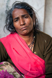A woman in Udaipur, Rajasthan, India