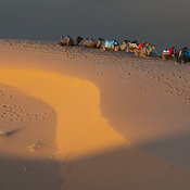 The Erg Chebbi Desert, Morocco