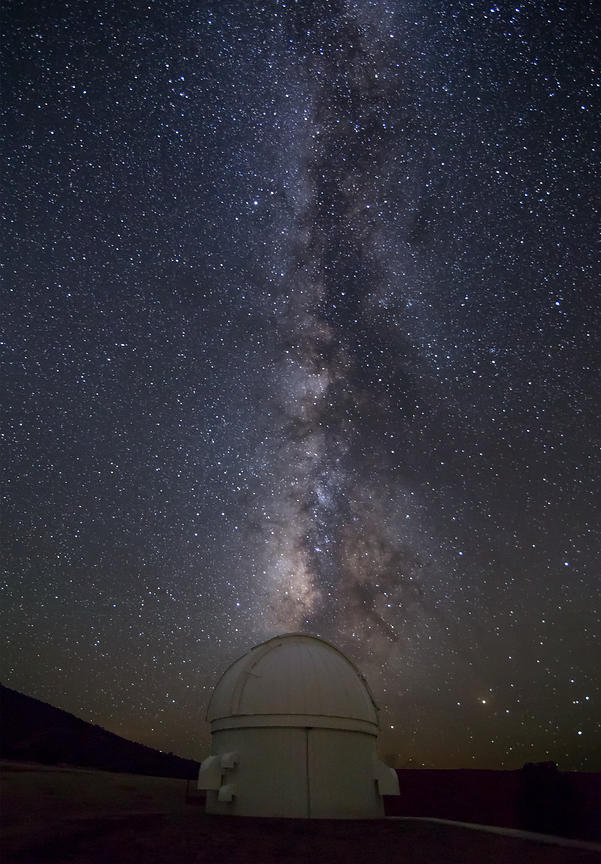 Small Observatory and the Milky Way