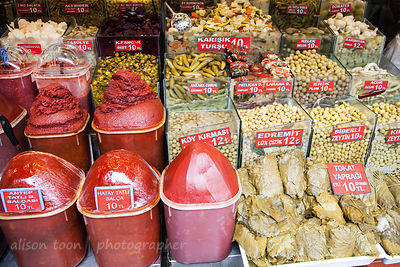 in the spice market, Istanbul