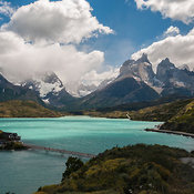 Cordillera Del Paine In Torres Del Paine National Park, Chile
