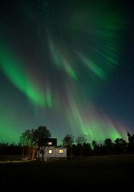 Nordlys engelen / The northern light angel
