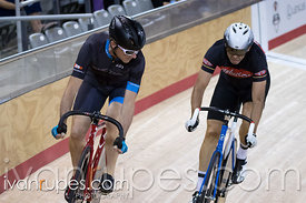 Master C Men Sprint 3-4 Final. Canadian Track Championships, Mattamy National Cycling Centre, Milton, On, September 25, 2016