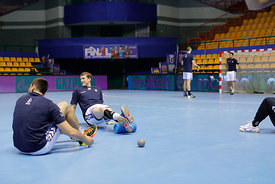 Team PPD Zagreb during the Final Tournament - Final Four - SEHA - Gazprom league, Team training in Brest, Belarus, 06.04.2017...