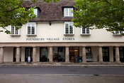 UK - Dorset - The Poundbury Village Stores a traditionally styled building in Poundbury