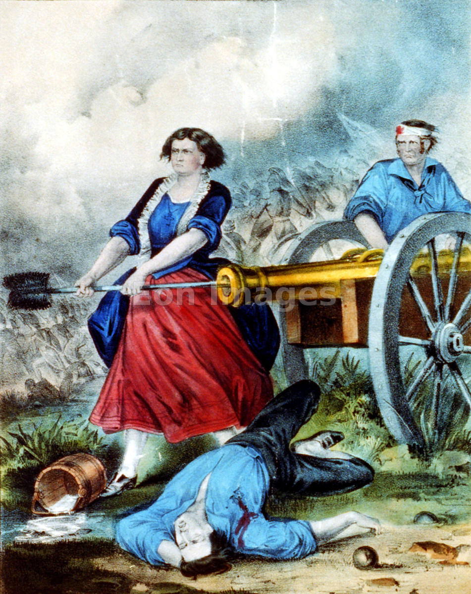 Molly Pitcher the Heroine of Monmouth